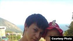 Арсен Джеппаров з донькою