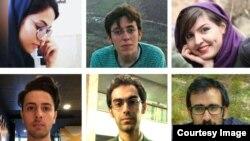 چند تن از دانشجویانی که اخیرا به تحمل زندان محکوم شدهاند