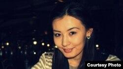 Студент Айжан Кәрібаева. (Сурет жеке мұрағаттан алынды).