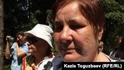 Ольга Колтунова - Вадим Курамшинның анасы. Алматы, 31 мамыр 2013 жыл.