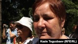 Ольга Колтунова, мать Вадима Курамшина. Алматы, 31 мая 2013 года.