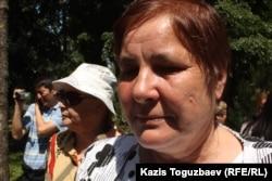 Ольга Колтунова, Вадим Курамшиннің анасы. Алматы, 31 мамыр 2013 жыл