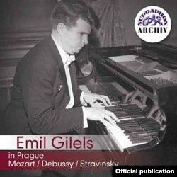 Un concert al lui Gilels la Praga, CD Supraphon