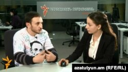 Тигран Аракелян дает интервью Радио Азатутюн, Ереван, 14 октября 1013 г.