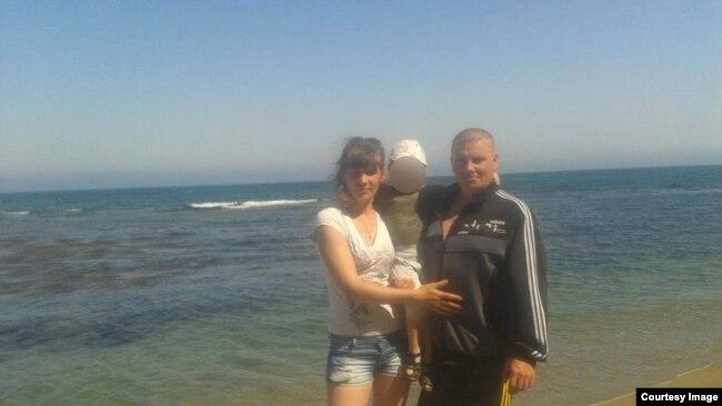 Николай с семьей