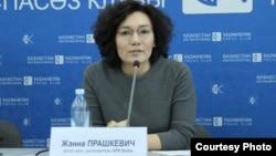 Жанна Прашкевич, DPR маркетингтік бюро өкілі. Алматы. 15 ақпан 2017 жыл.