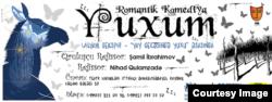 """ƏSA teatrının """"Yuxum"""" tamamşasının afişası."""