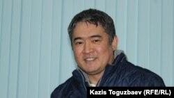 Бизнесмен Искандер Еримбетов, обвиняемый в «мошенничестве». Алматы, 17 октября 2018 года.