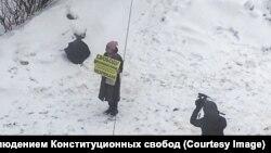 Пікет під судом в Москві