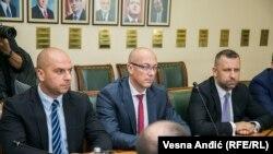 Anëtarë të Listës Serbe në Kosovë, foto nga arkivi