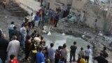 تفجير مدرسة ببغداد