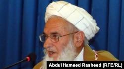 High Peace Council spokesman Qiyamuddin Kashaaf
