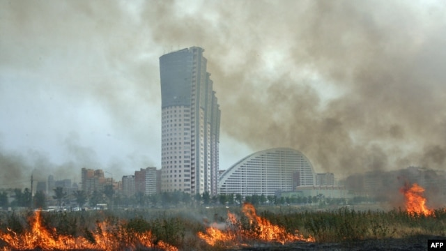 The heatwave has caused forest and peat fires across Russia