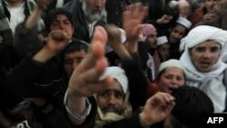 Акция протеста в Афганистане в связи с сожжением Корана