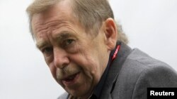 Vaclav Havel died in December 2011