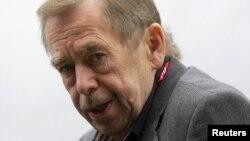Вацлав Гавел. Липень 2010 року