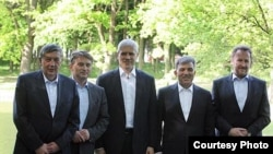 Predsjednici Turske i Srbije i članovi Predsjedništva BiH nakon sastanka u Karađorđevu, 26. april 2011. Foto: PSPS