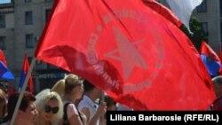 Moldovada kommunistlərin 1 may görüşü