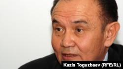 Артыкбай Укибаев, председатель общества оралманов. Алматы, 19 октября 2011 года.