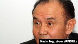 «Қазақстан оралмандар одағының» төрағасы Артықбай Үкібай. Алматы, 19 қазан 2011 жыл.