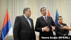 Novo aktuelizovanje srpskog pitanja u regiji s najavljenom deklaracijom: Milorad Dodik i Aleksandar Vučić