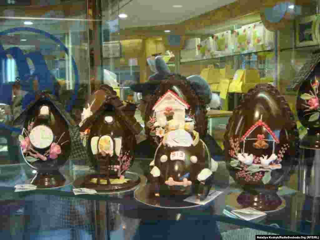 Италия. Шоколадные конфеты на Пасху