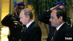 Putin dhe Al-Sisi