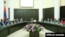 Заседание правительства Армении, Ереван, 22 мая 2017 г․