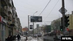 На одній із вулиць Донецька