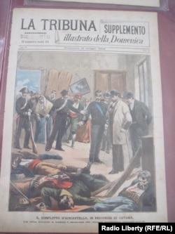 Первая страница журнала La Tribuna Illustrata, выпуск от 19 мая 1895 года