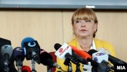 Убедена сум дека истражителите и обвинителите максимално ќе го искористат бенефитот од добиената опрема, рече обвинителката Русковска на доделувањето на донацијата.