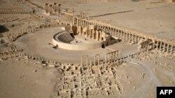 Древняя часть сирийского города Пальмира.