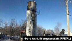 Скважина в поселке Баевка