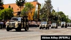 Ադրբեջանի զինված ուժերի զորահանդես Բաքվում, արխիվ