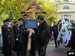 Похороны Вячеслава Иванькова, 13 октября 2009 года