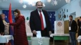 WATCH: Armenian Leaders Vote In Snap Elections