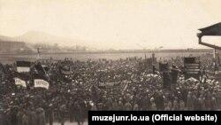 Українська військова демонстрація у Владивостоці 1 травня 1917 року