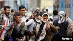 صحنهای از ناآرامیهای اخیر در صنعا، پایتخت یمن