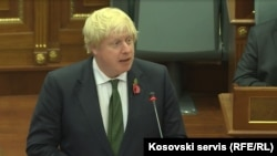 British Foreign Minister Boris Johnson (file photo)