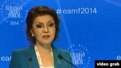 Парламент мәжілісінің вице-спикері Дариға Назарбаева. Астана, 24 сәуір 2014 жыл.