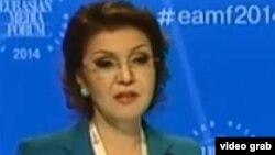 Дарига Назарбаева, председатель организационного комитета Евразийского медиафорума.