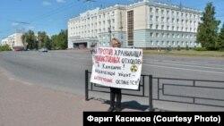 Акция 12 июня против строительства комплекса в Камбарке