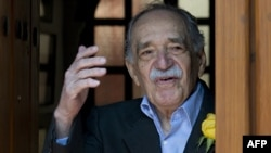 Mexico -- Nobel Literature prize-winning writer and journalist, Colombian Gabriel Garcia Marquez