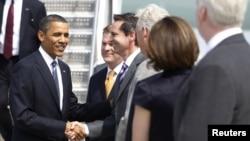 Președintele Barack Obama sosește la Toronto