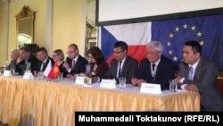 Прагадагы кыргыз-чех бизнес-форуму.
