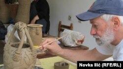 Mir Tejmur, umetnik iz Azerbejdžana