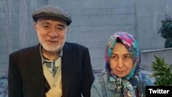 IRAN -- A new photo of two prominent Iranian opposition figures – Mir Hossein Musavi and his wife, Zahra Rahnavard -- who have been held under house arrest for the past eight years, has emerged on social media.