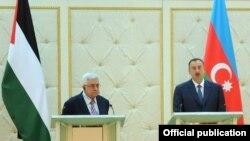 Mahmud Abbas və İlham Əliyev