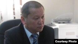 Қазақстанның еңбек және халықты әлеуметтік қорғау вице-министрі Біржан Нұрымбетов. Астана, 25 сәуір 2012 жыл.