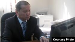 Вице-министр здравоохранения и социального развития Биржан Нурымбетов.